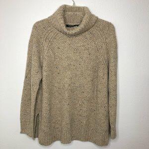Ralph Lauren Wool Blend Cowlneck Sweater